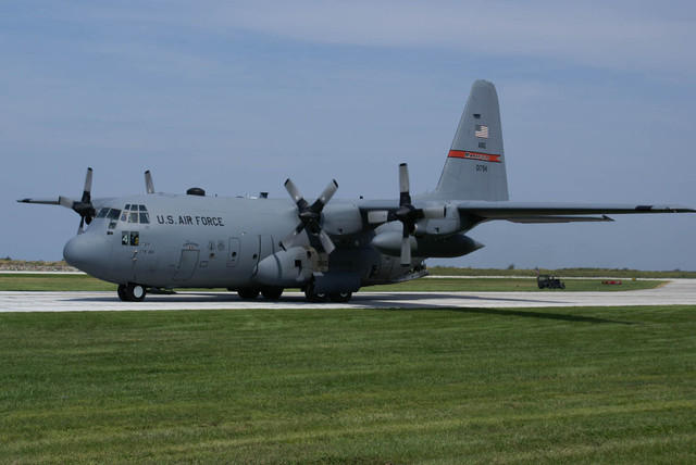 C-130H Hercules (179th Airlift Wing - Mansfield, Ohio) Taxi