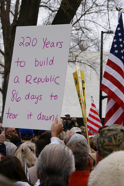 Boise Idaho Tea Party - 220 Years to build a Republic