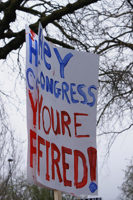 Boise Idaho Tea Party - Hey Congress - Youre Fired