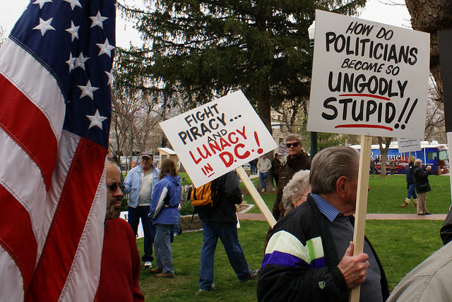 Boise Idaho Tea Party - How Politcians