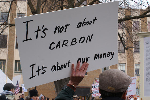 Boise Idaho Tea Party - Its Not About Carbon