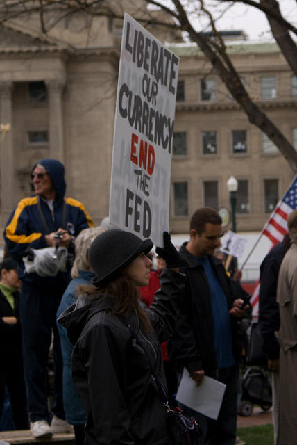 Boise Idaho Tea Party - Liberate Our Currency - End the Fed