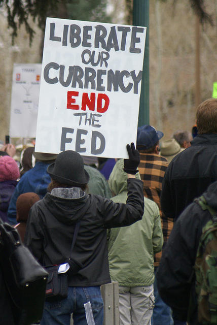Boise Idaho Tea Party - Liberate Our Currency