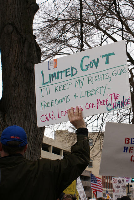 Boise Idaho Tea Party - Limit Government - Ill Keep My Rights