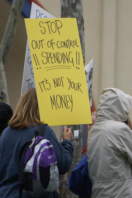 Boise Idaho Tea Party - Stop Out of Control Spending
