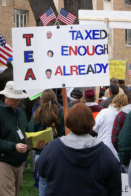 Boise Idaho Tea Party - Taxed Enough Already