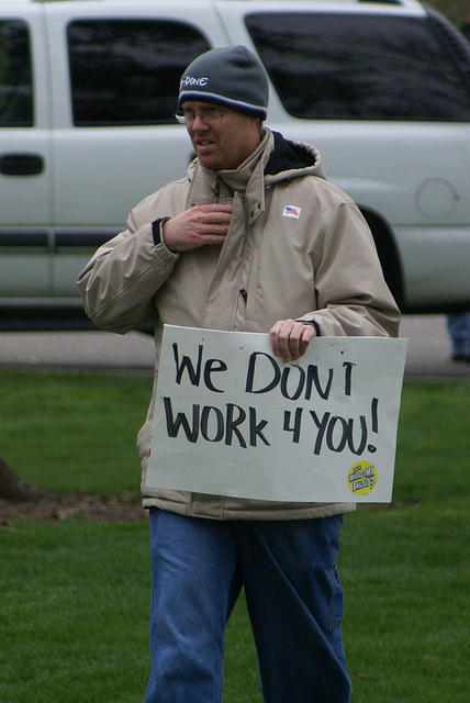 Boise Idaho Tea Party - We Dont Work 4 You