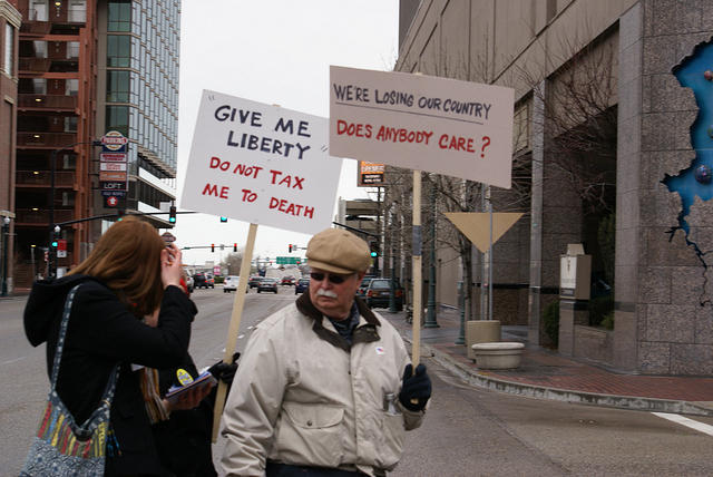 Boise Idaho Tea Party - Were Losing Our Country