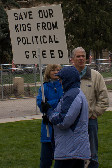Boise Idaho Tea Party - Save Our Kids