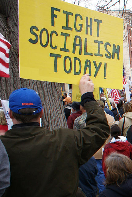 Boise Idaho Tea Party - Fight Socialism Today