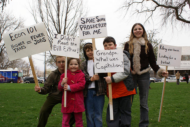 Boise Idaho Tea Party - I Didnt Read the Bill Either
