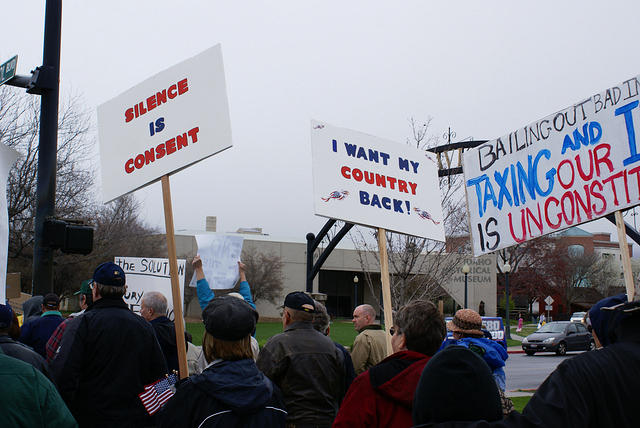 Boise Idaho Tea Party - I Want My Country Back