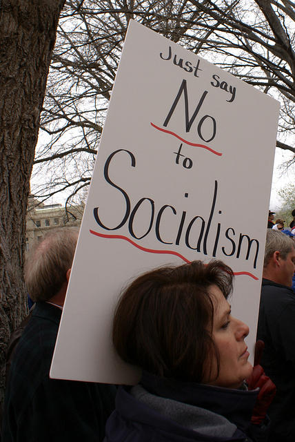 Boise Idaho Tea Party - Just Say No to Socialism