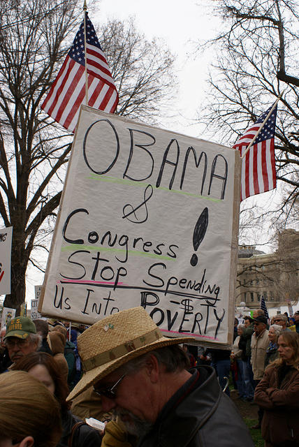 Boise Idaho Tea Party - Obama and Congress Stop Spending