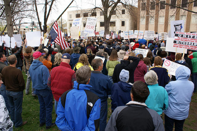 Boise Idaho Tea Party - Protest Overview