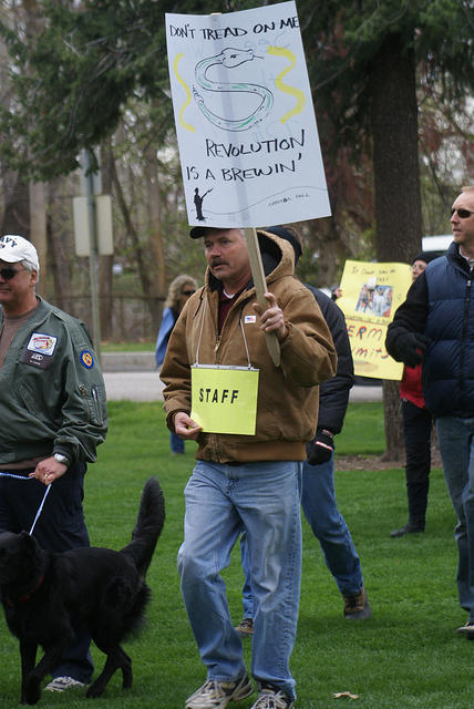 Boise Idaho Tea Party - Revolution is a Brewing