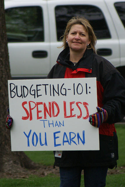 Boise Idaho Tea Party - Spend Less Than You Earn