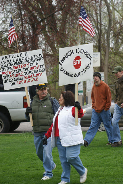 Boise Idaho Tea Party - Stop Spending Our Money
