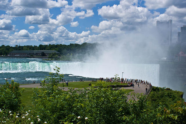 Mist From The Horseshoe Falls