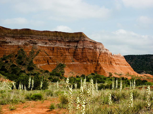 Palo Duro Canyon Cliff