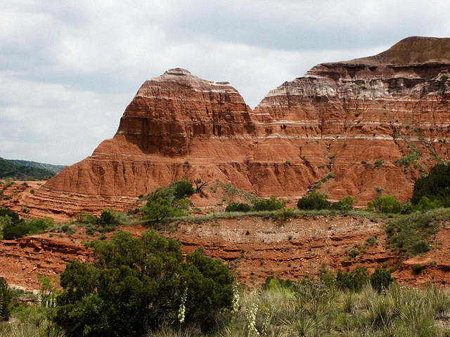 A Rock Formation in Palo Duro Canyon
