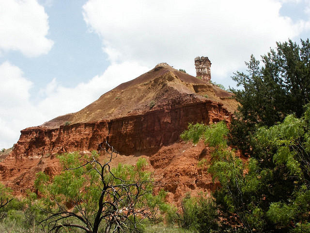 Pyramid Dome - Palo Duro Canyon in Texas