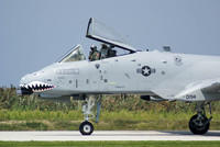 The A-10 Thunderbolt II Taxis By