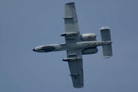 The A-10 Thunderbolt II in a Roll