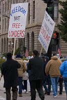 Boise Idaho Tea Party - Freedom Not Freeloaders