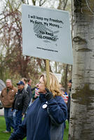 Boise Idaho Tea Party - I Will Keep My Freedom
