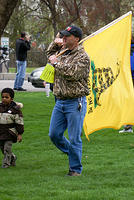 Boise Idaho Tea Party - March to Julia Davis Park