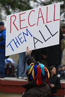 Boise Idaho Tea Party - Recall Them All