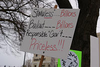 Boise Idaho Tea Party -Stimuless Billions Bailout