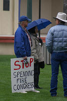 Boise Idaho Tea Party - Stop Spending Fire Congress