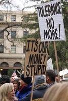 Boise Idaho Tea Party - Its Our Money Stupid