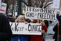 Boise Idaho Tea Party - You Keep the Change