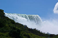 American Falls From the Bottom