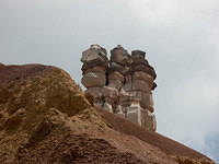 Chimney Rock Formation in Palo Duro Canyon