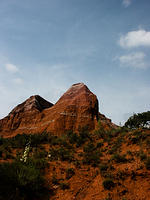 Rock Outcrop in Palo Duro Canyon