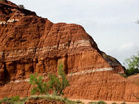 Sediment Layers - Palo Duro Canyon
