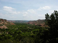 A View Through Palo Duro Canyon, Texas