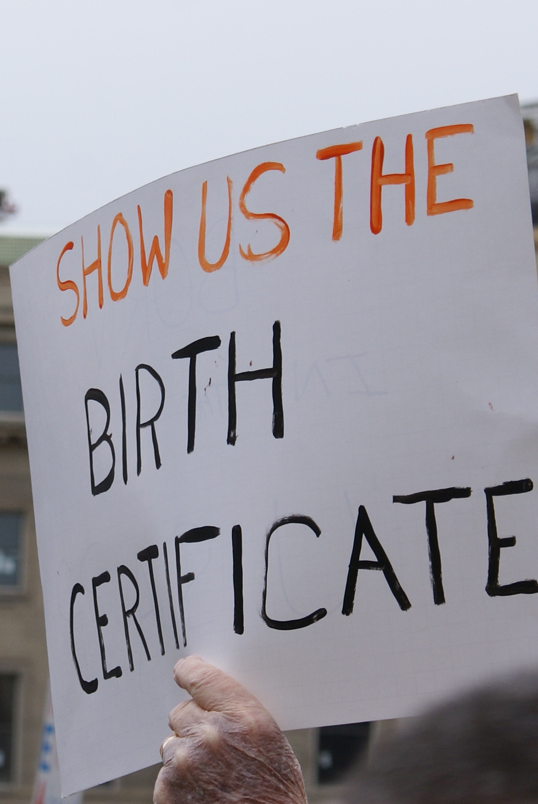Boise Idaho Tea Party Show Us The Birth Certificate